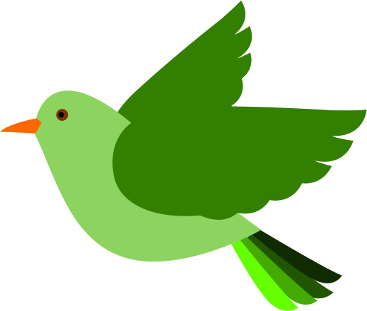 Flying Bird With Clipart - ClipArt Best