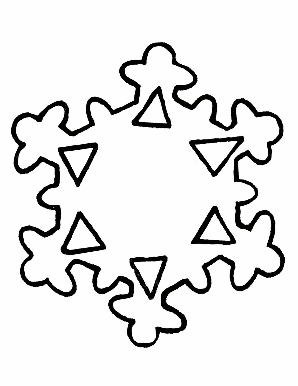 snowflake writing template These free printable writing papers with decorative christmas snowflake writing template with these free christmas printables are perfect for kids.
