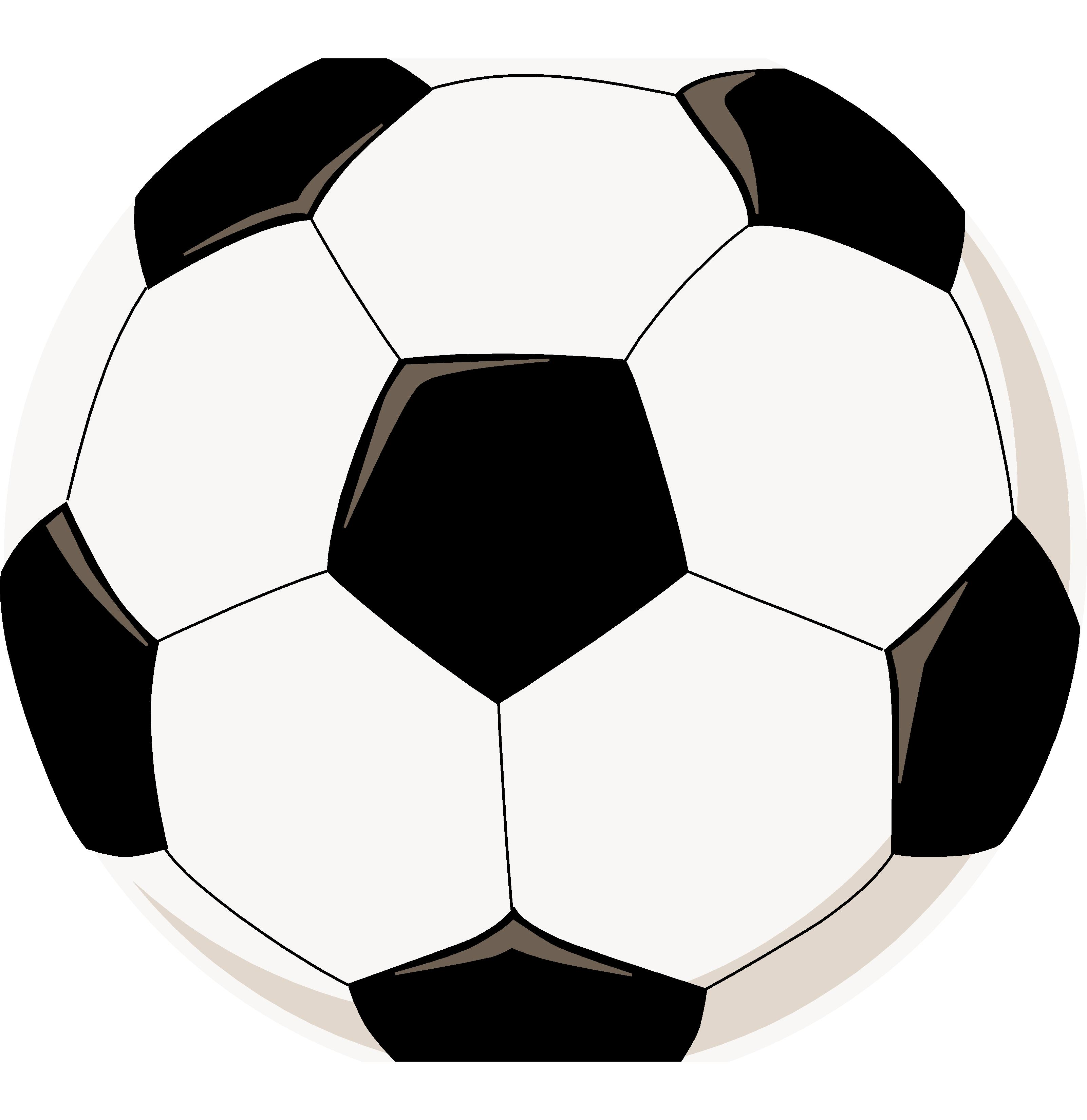 Soccer Ball Pictures To Color - ClipArt Best