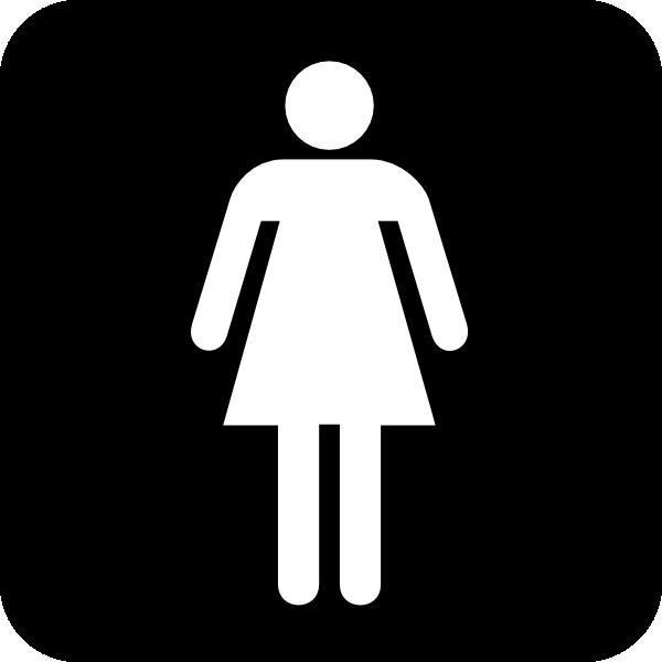 clipart ladies toilet - photo #10