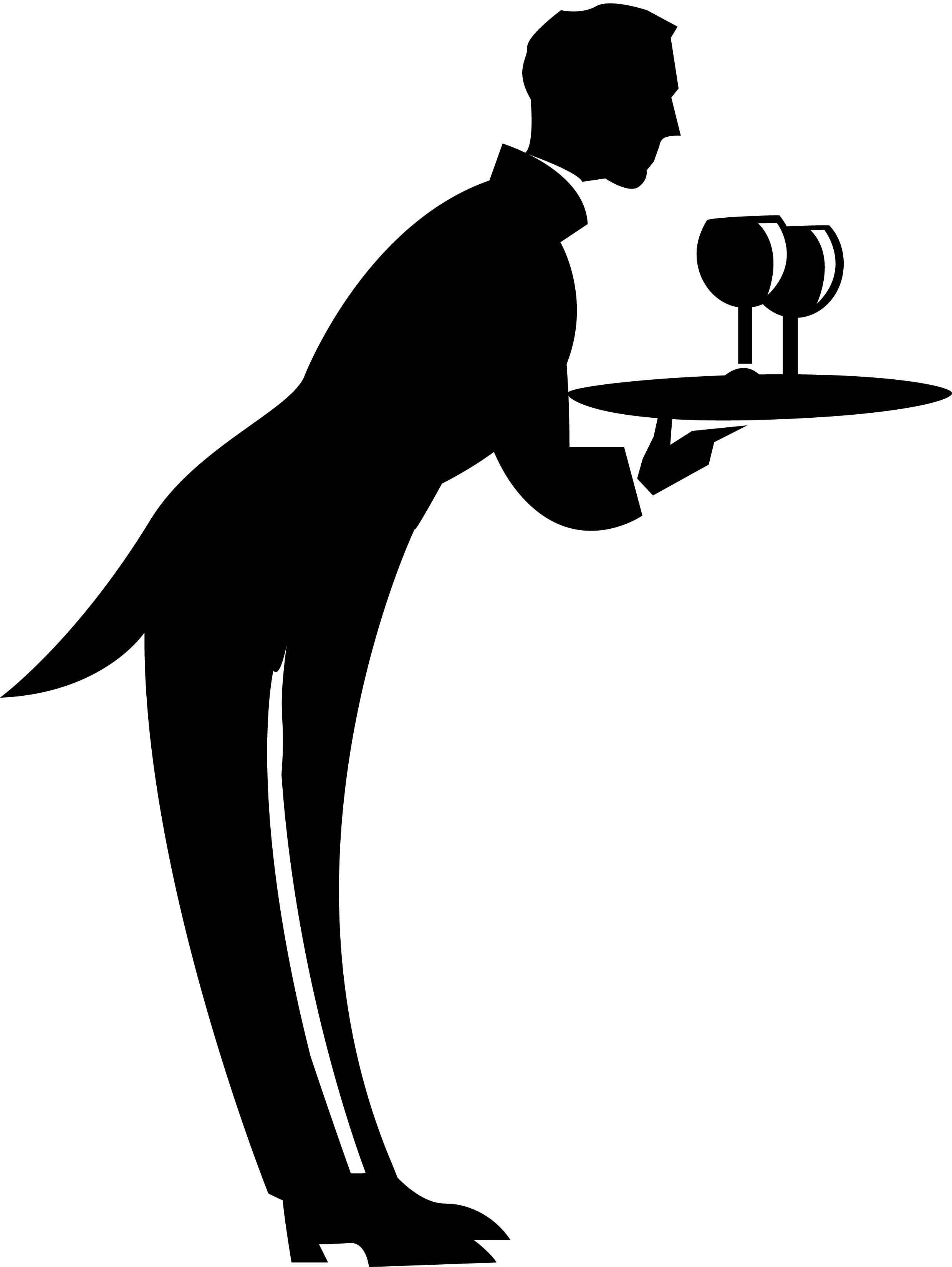 Waiter Clip Art - ClipArt Best