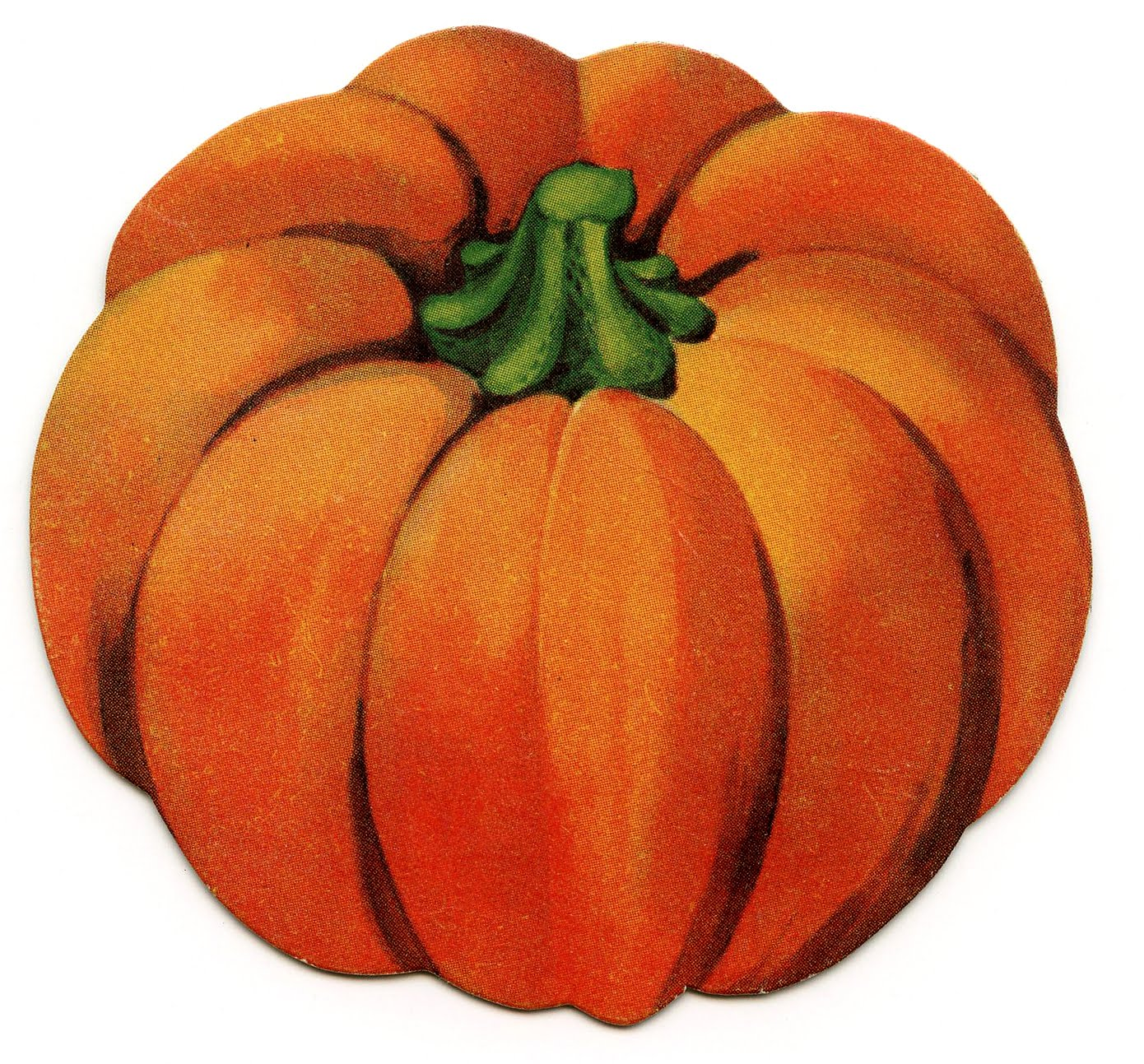 vintage pumpkin clip art - photo #1
