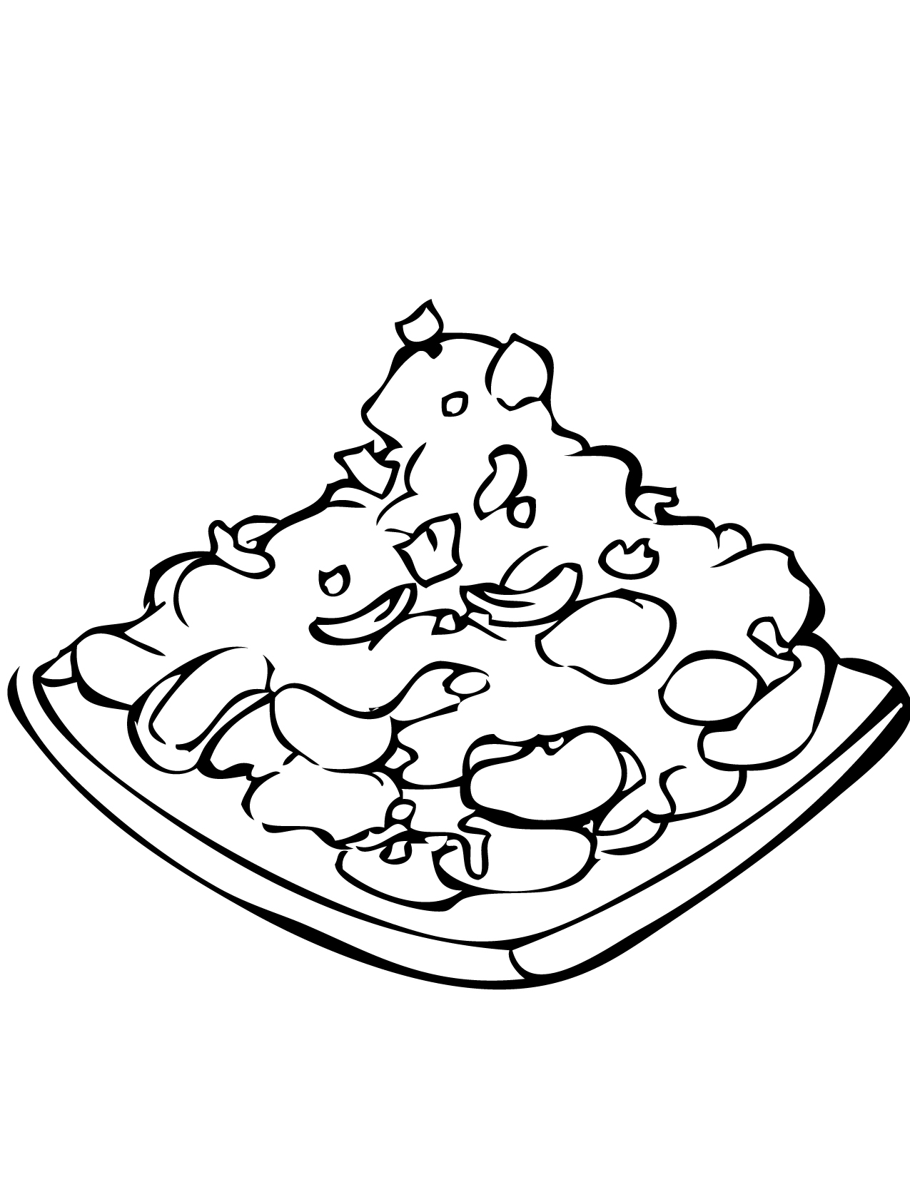 Rice - Free Colouring Pages