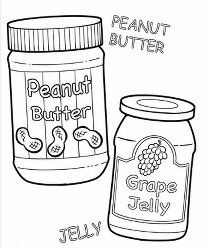 butter free coloring pages - photo#29