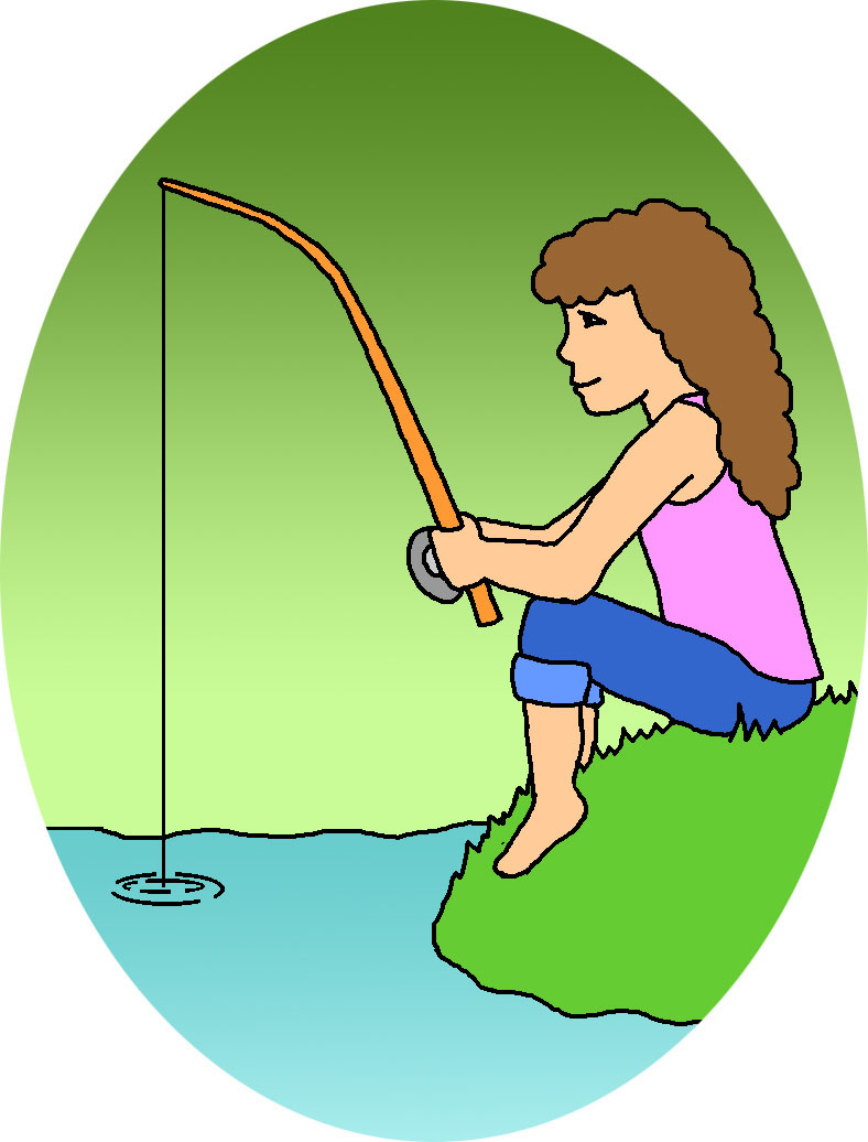 clipart fishing free - photo #24