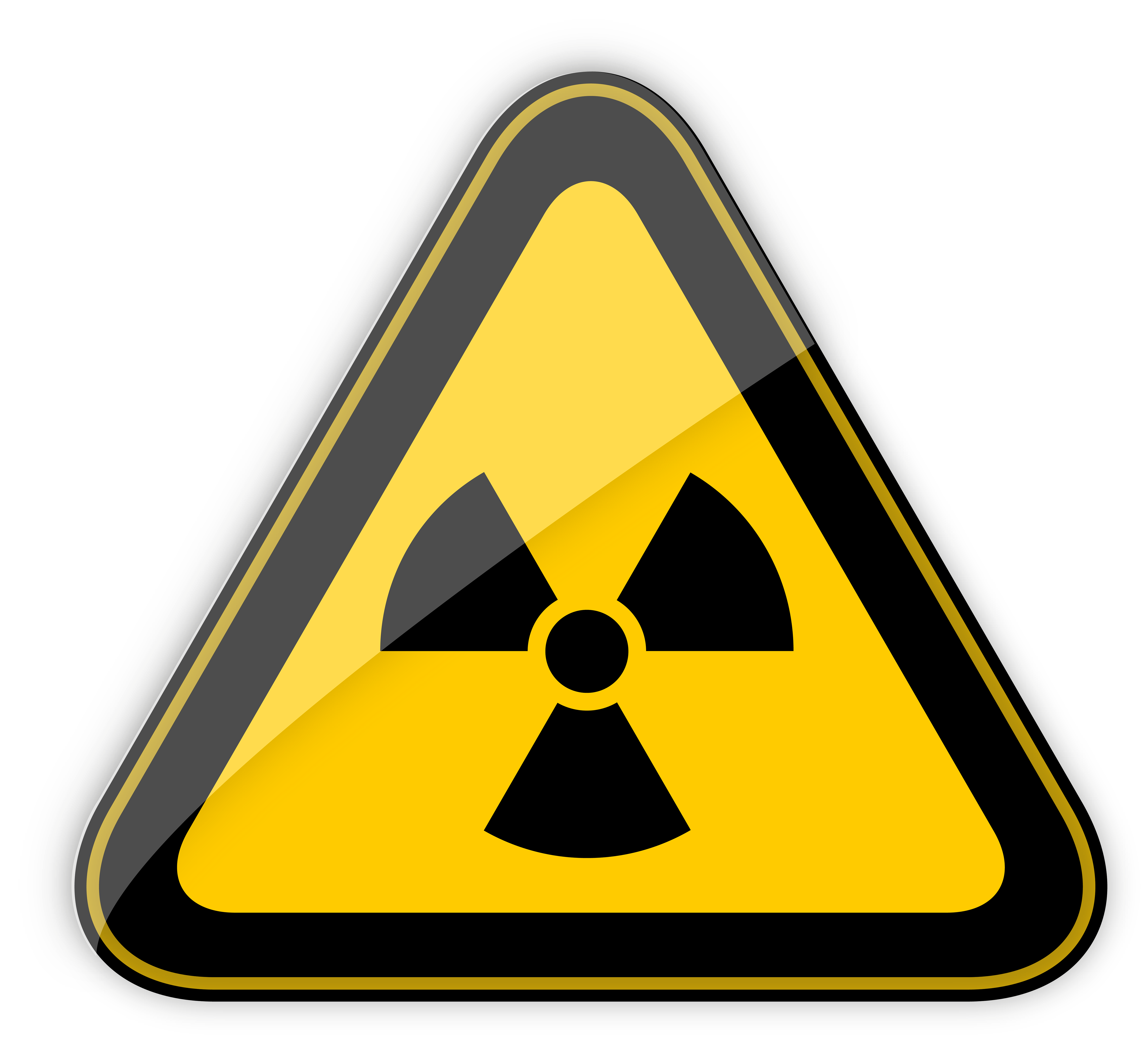 30+ Radiation Sign Clipart