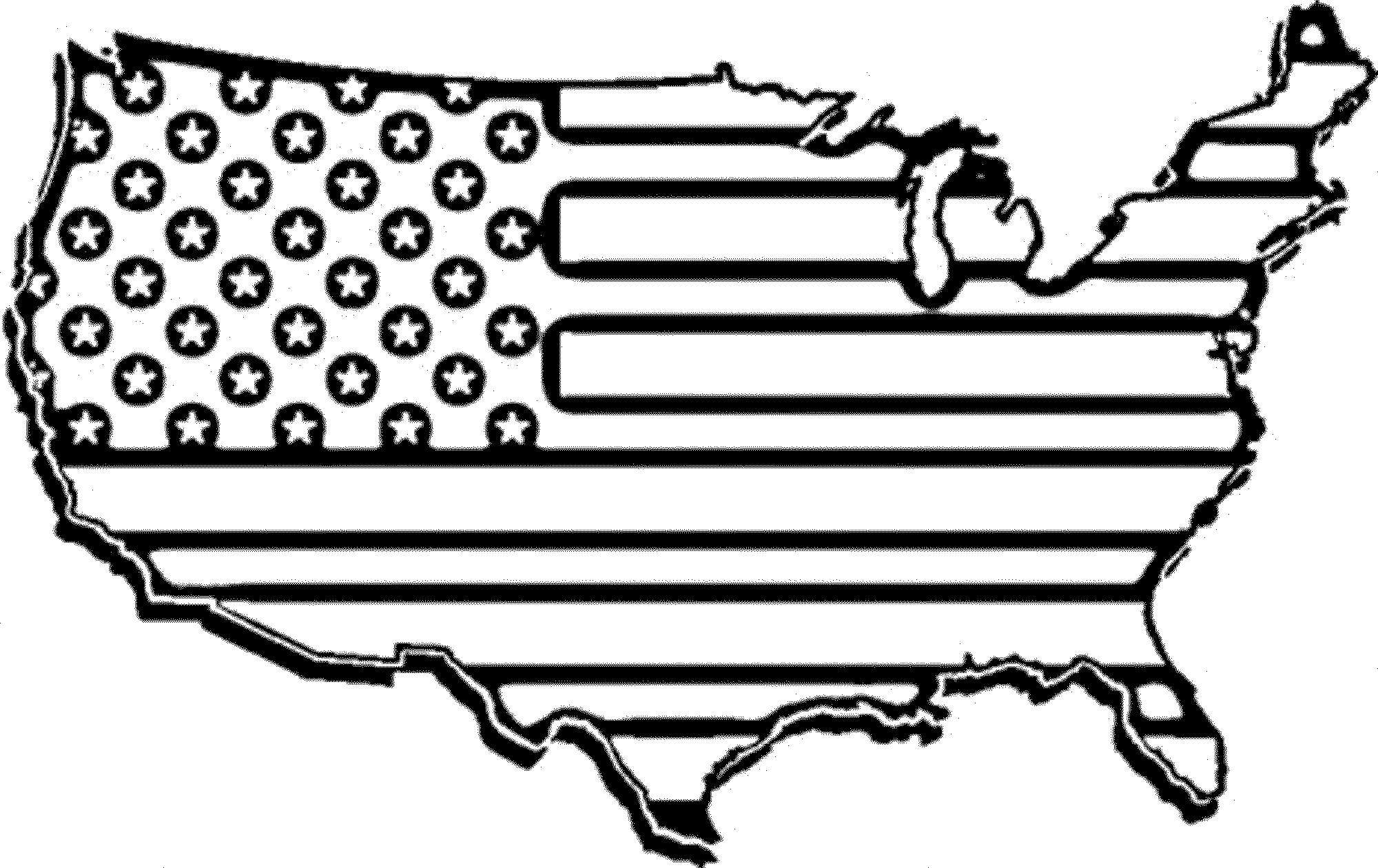 State Flag Of Florida Coloring Page