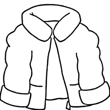 Winter : Winter Hat Coloring Page, Winter Clothes For Girl ...