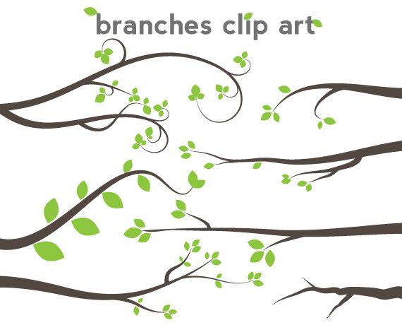 Tree Branch Line Art Clipart Best
