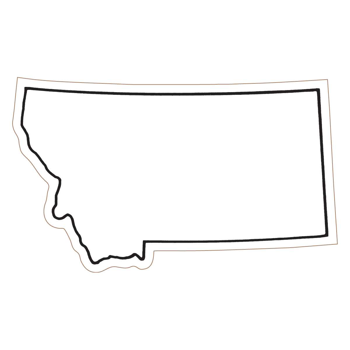 Pix For > Montana State Outline - ClipArt Best - ClipArt Best