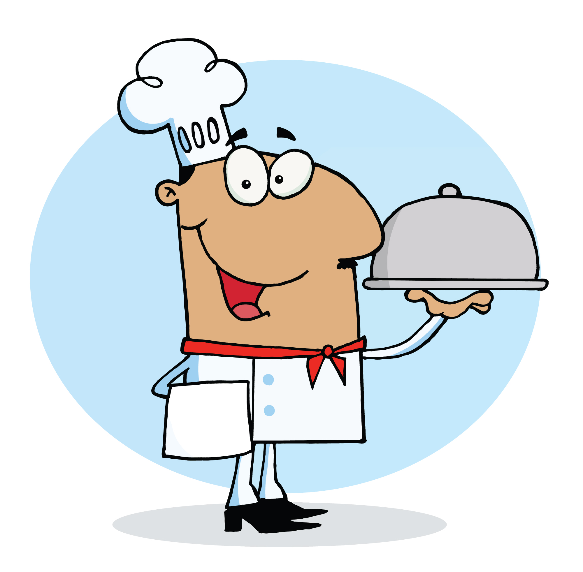 Kids Cooking Clipart Black And White | Clipart Panda - Free ...