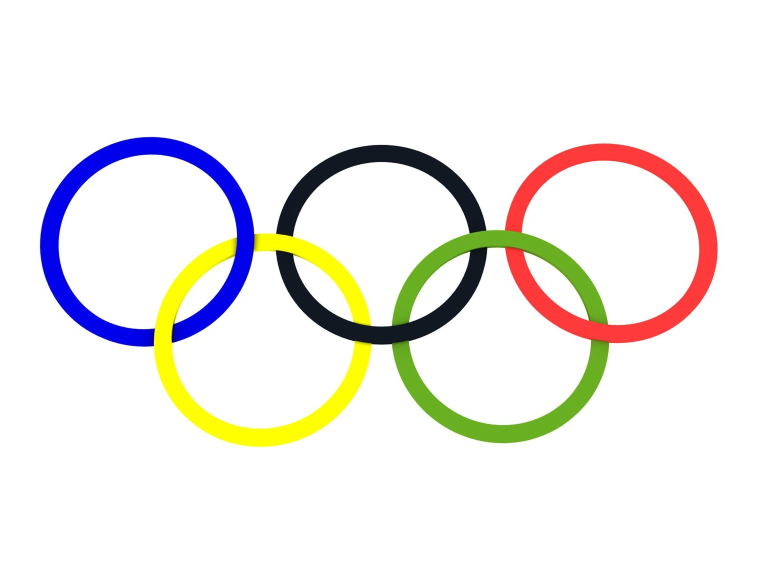 Olympic Rings Clipart - Free to use Clip Art Resource