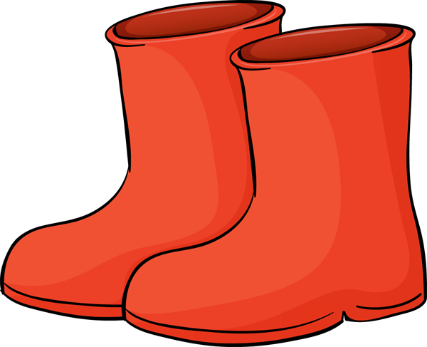 Snow boots Clip Art Vector and Illustration 5115 Snow
