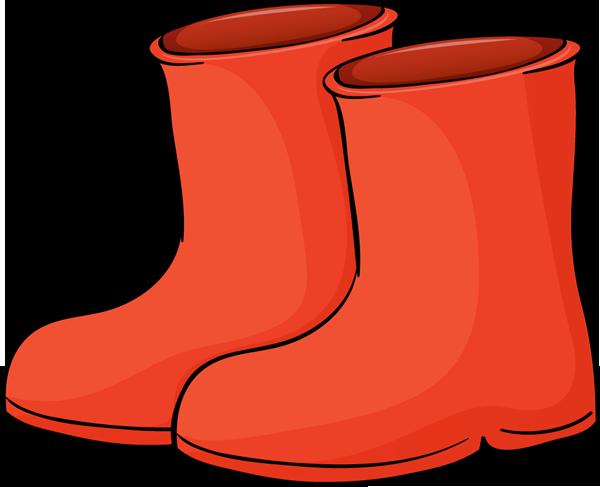 Snowboots clipart