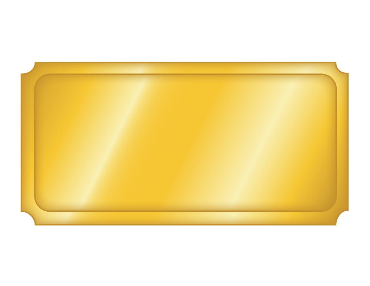 Willy wonka golden ticket templates editable clipart best for Golden ticket template editable