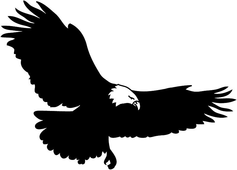 clip art soaring eagle - photo #7