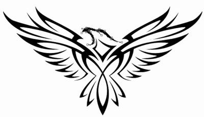 Eagle Wings Drawings Draw Eagle Tattoo