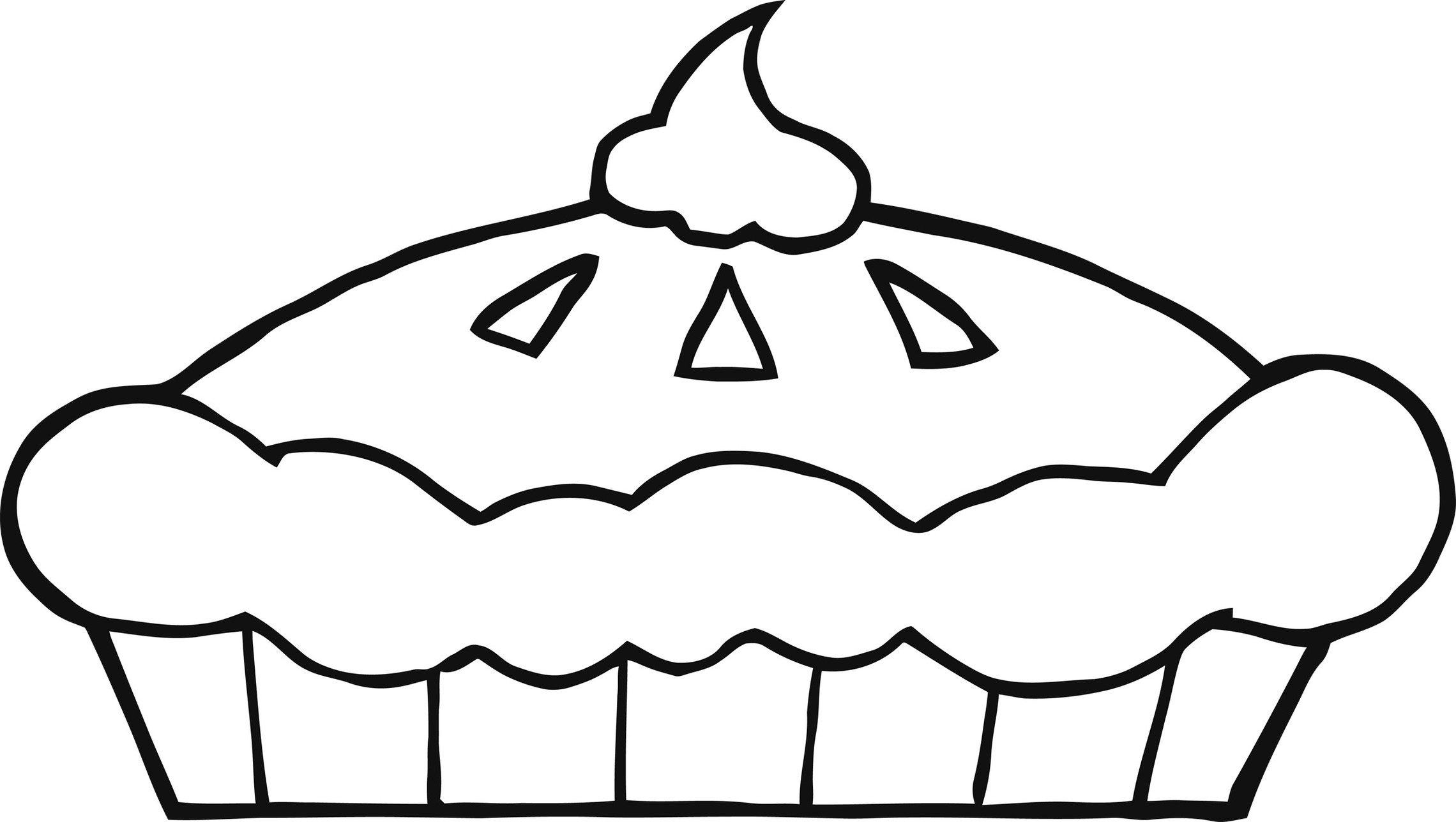 cupcake line drawing clipart best Black and Whiteclipart Cupcake Free Download Free Clip Art Downloads Disney