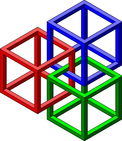 Impossible 3d Shapes - ClipArt Best