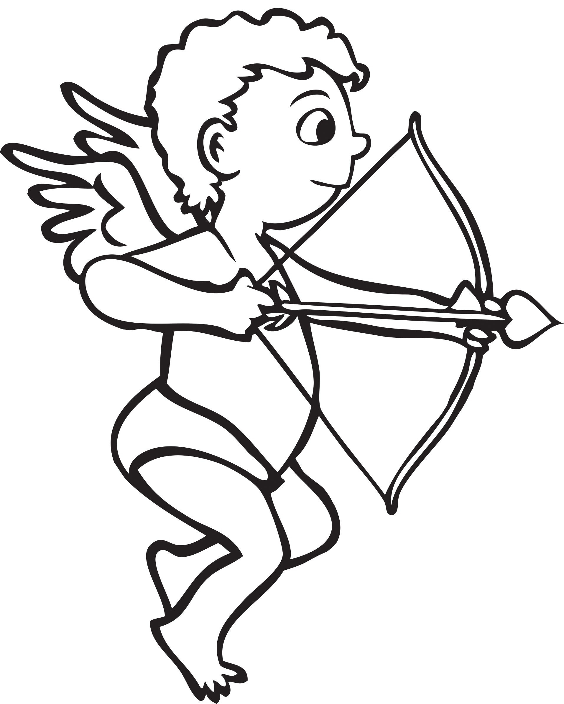 Cupid Drawing Clipart Best