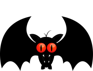 Clipart Of Halloween Bats