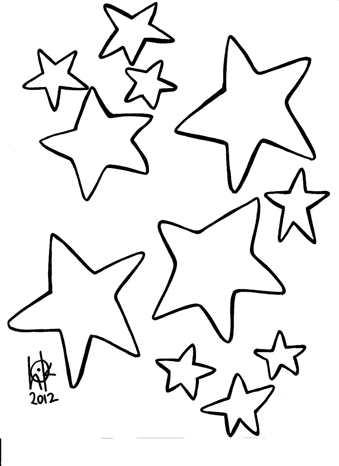 christmas star coloring pages printable | Blank Star Template - ClipArt Best