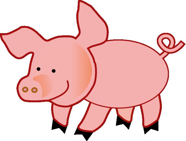 Small Pig clip art - vector clip art online, royalty free & public ...
