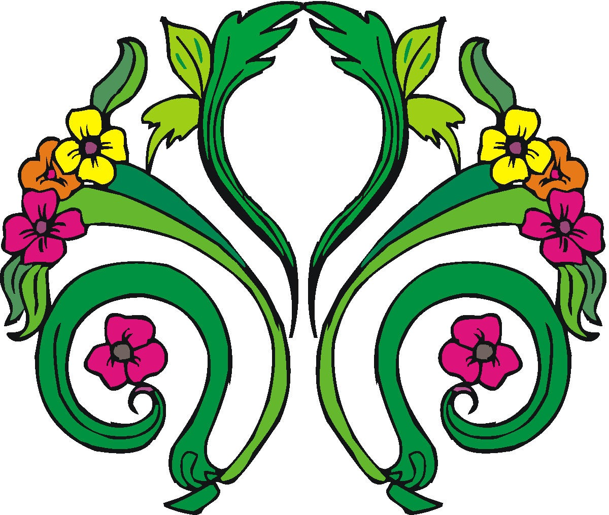 Easter flowers clipart best