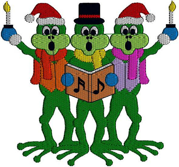 Christmas Frogs Pictures - ClipArt Best