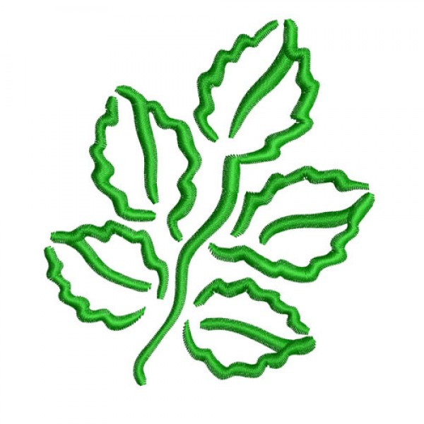 Leaves Outline Embroidery Design Clipart Best Clipart Best