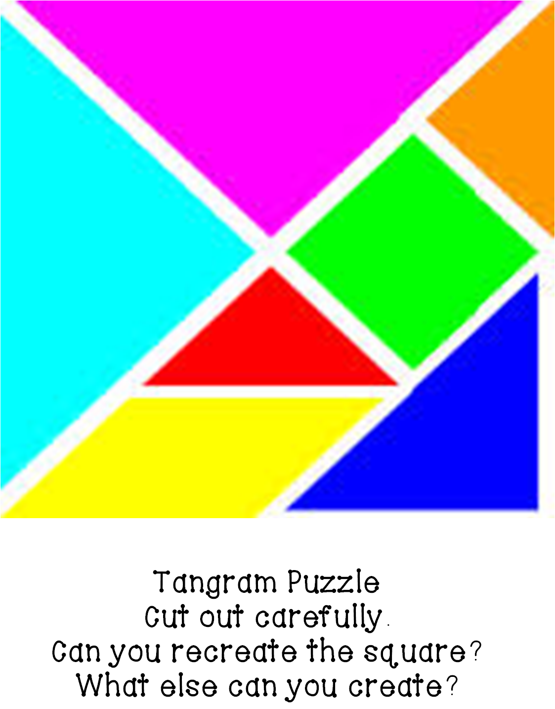Tangram Animals - ClipArt Best