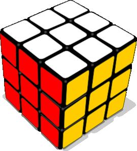 Rubik Cube Game clip art - vector clip art online, royalty free ...: www.clipartbest.com/clip-art-games