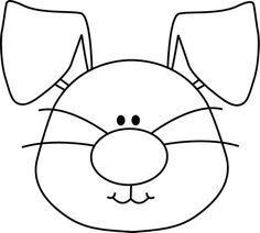 Bunny Face Coloring - ClipArt Best