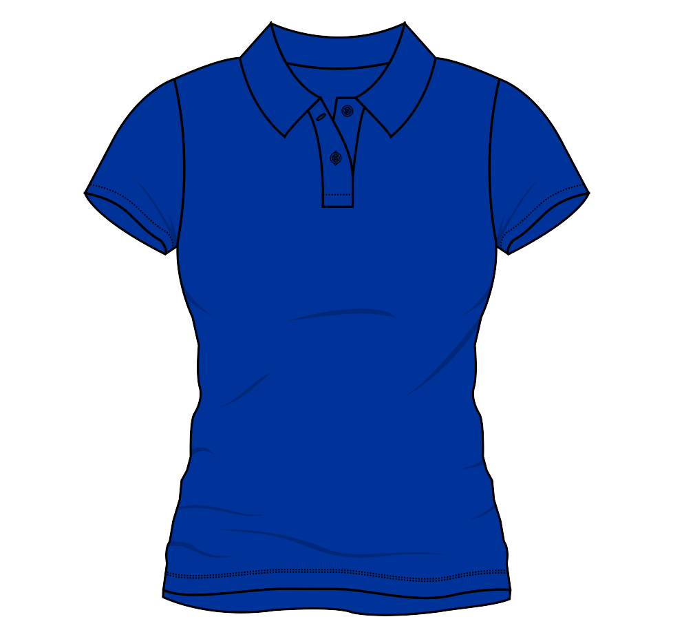 Polo T Shirt Template - ClipArt Best