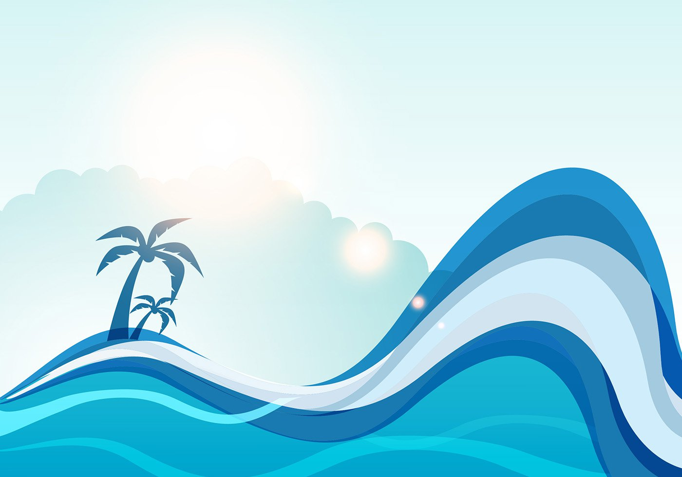WAVES VECTOR - ClipArt Best