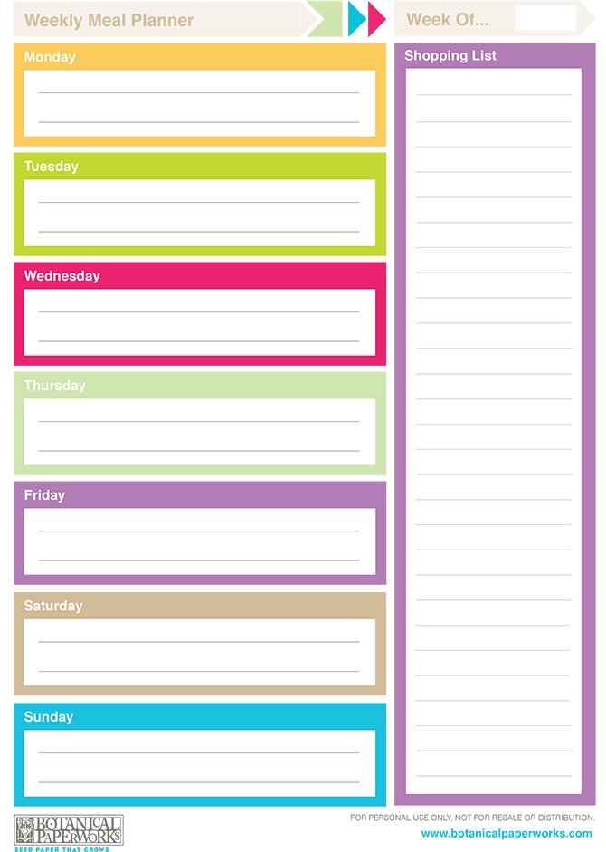 Best Images of Printable Weekly Planner Template 2014 - Free ...