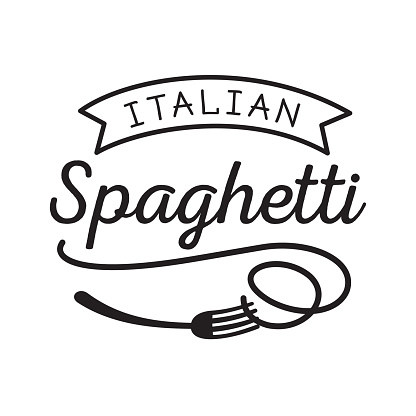 spaghetti fork clipart clipart best
