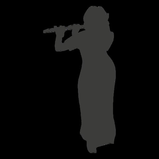 Flute Silhouette - ClipArt Best