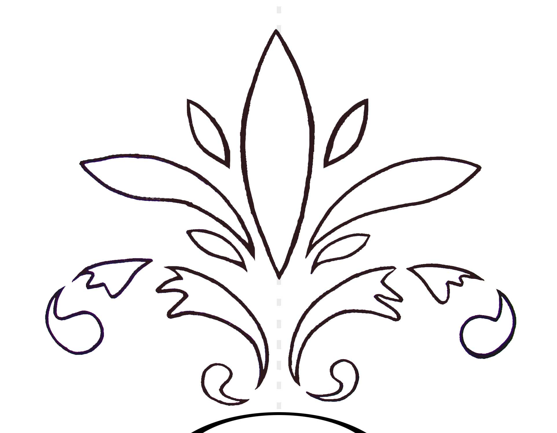 Printable Rose Stencils
