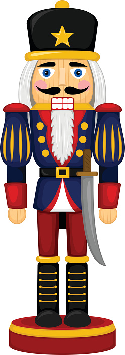 christmas nutcrackers clipart - photo #1