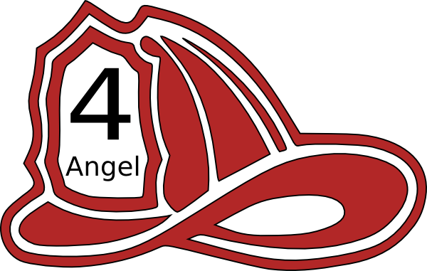Firemen Hat clip art - vector clip art online, royalty free ...