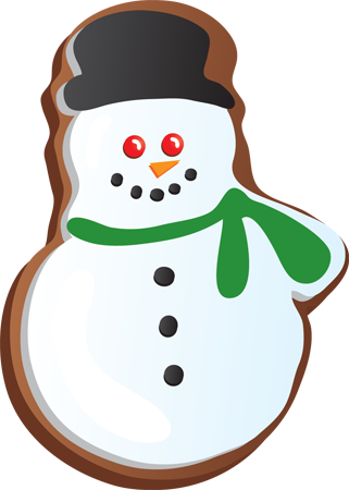 Christmas Cookie Clip Art - ClipArt Best