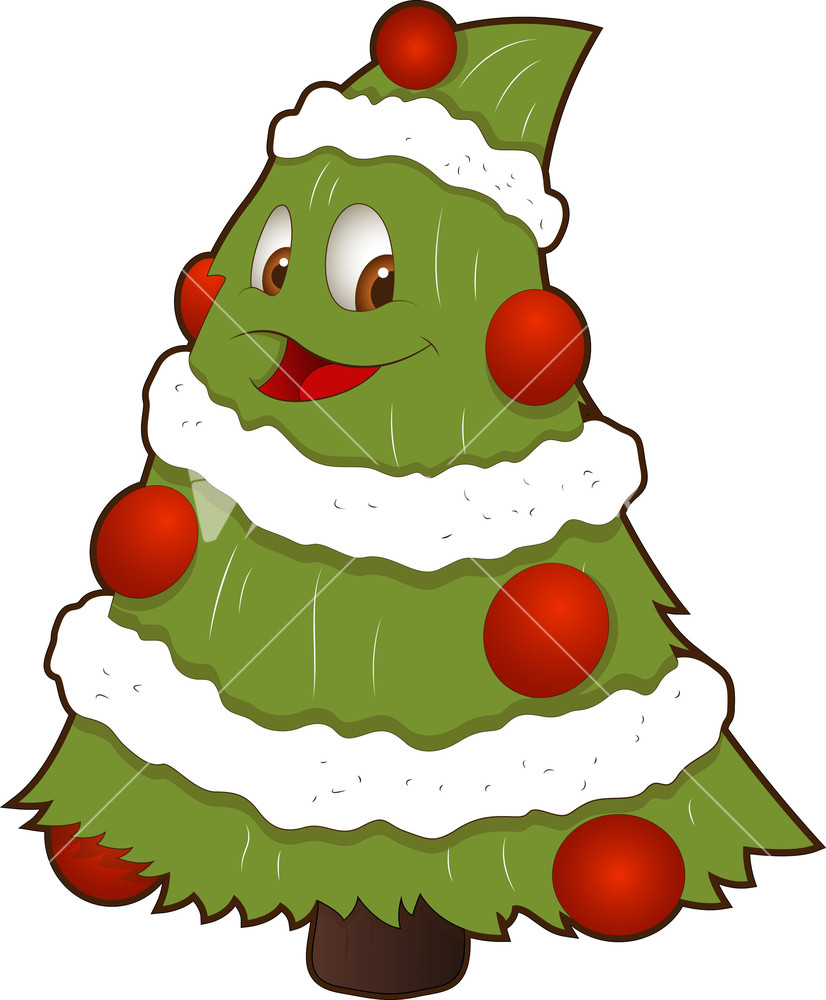 Christmas Tree Cartoon Pictures - ClipArt Best