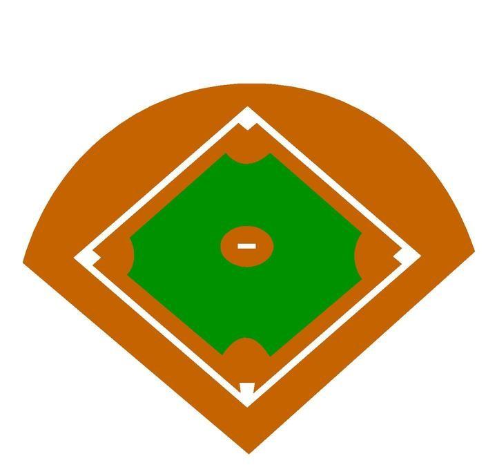 softball field cartoon clipart best