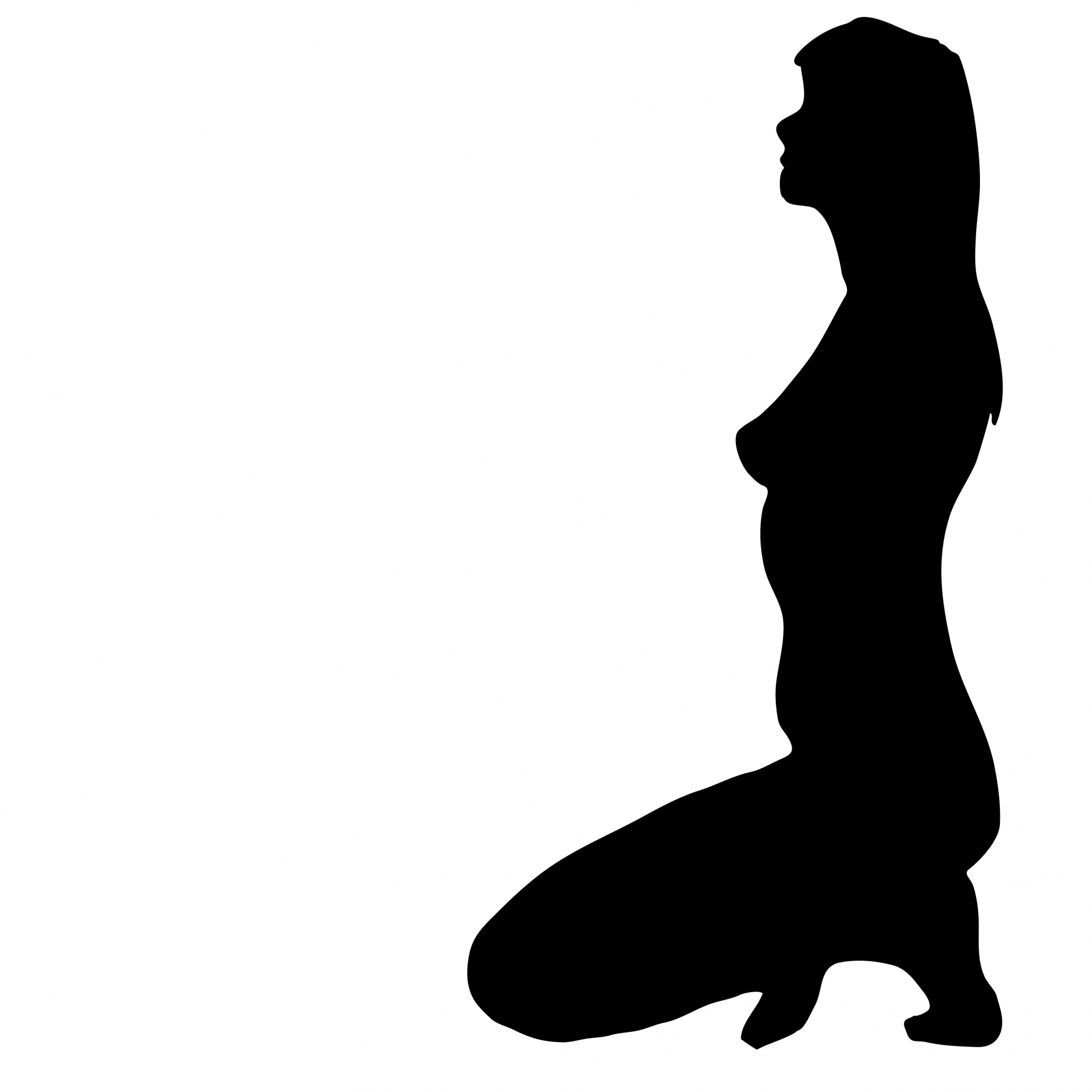 Are mistaken. nude woman silhouette clip art