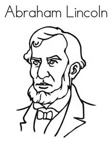 coloring pages abraham lincoln - abraham lincoln sketch clipart best