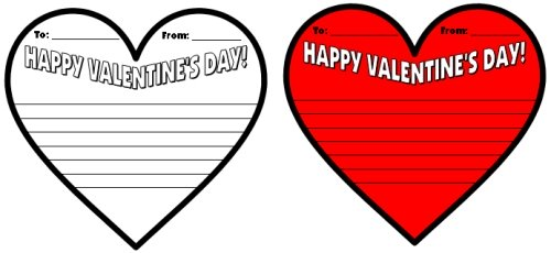 Valentine S Day Card Templates Microsoft - Valentine's Day 2017