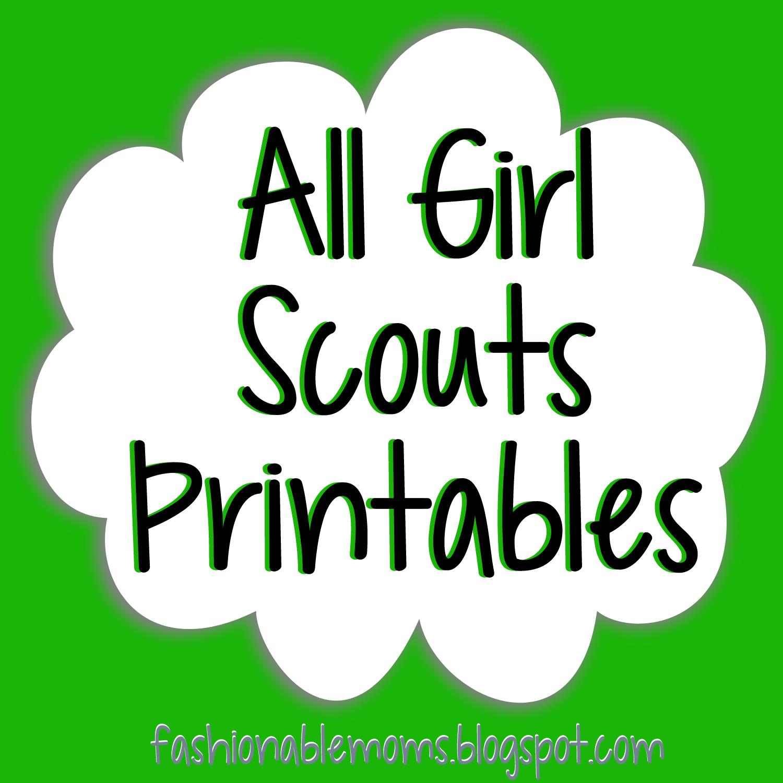 Free printable girl scout brownie songs