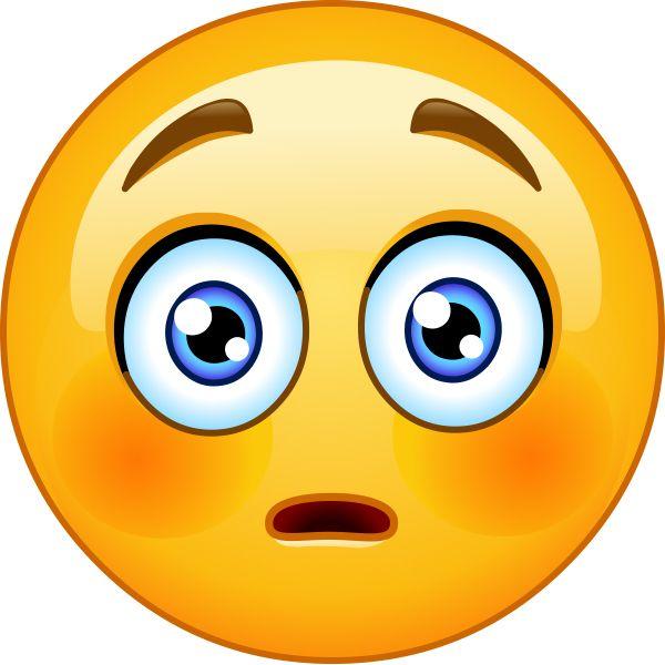 Emoticons Surprised Face - ClipArt Best