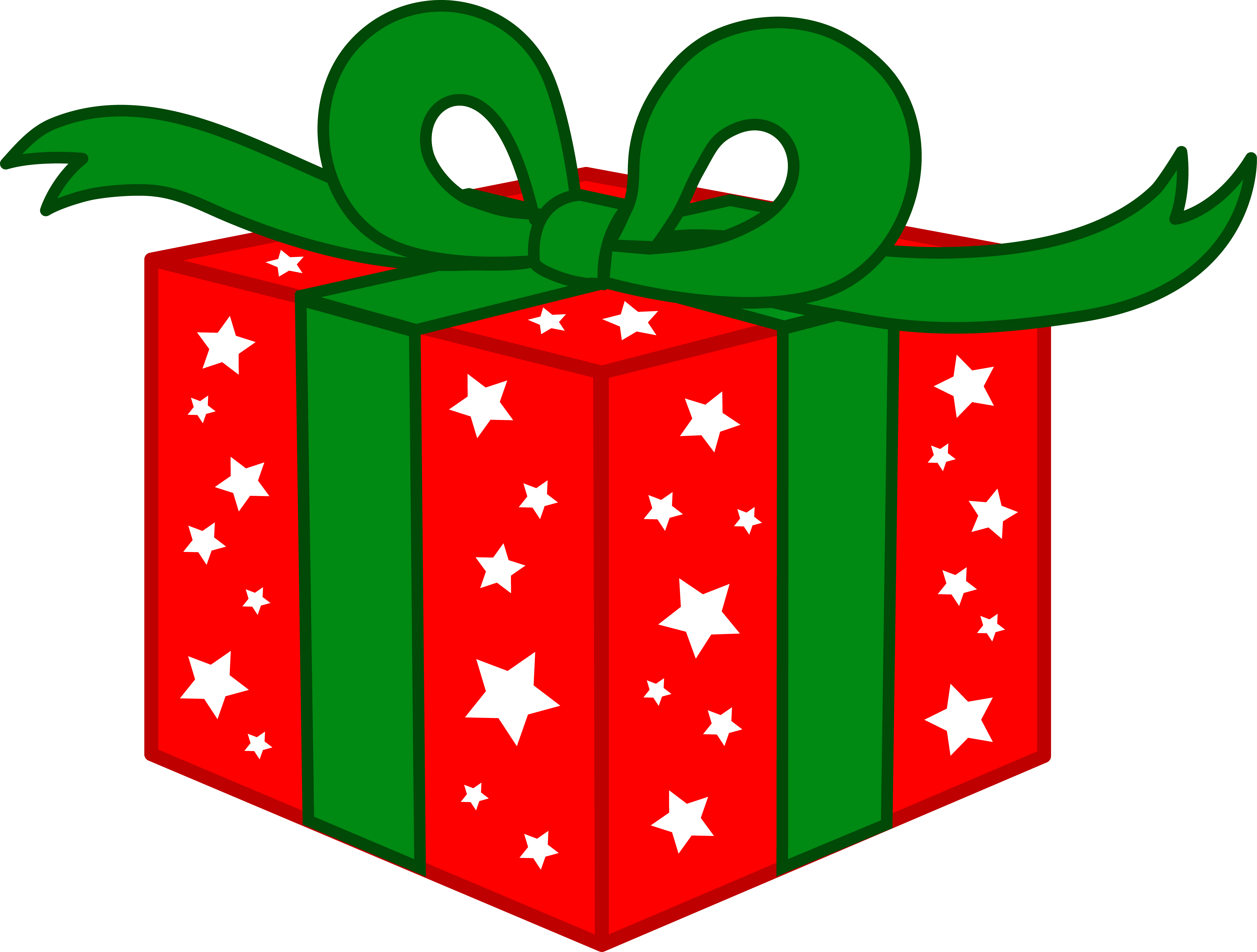 Christmas presents clipart images